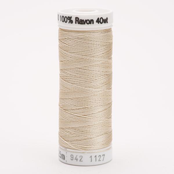 SULKY RAYON 40 farbig, 225m Snap Spulen -  Farbe 1127 Med. Ecru