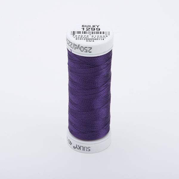 SULKY RAYON 40 farbig, 225m Snap Spulen -  Farbe 1299 Purple Shadow