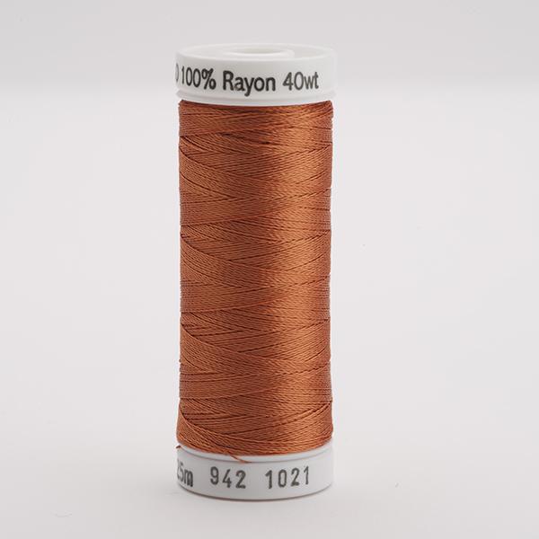 SULKY RAYON 40 farbig, 225m Snap Spulen -  Farbe 1021 Maple