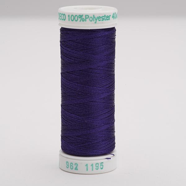 SULKY POLY DECO 40, 225m Snap Spulen -  Farbe 1195 Dk. Purple