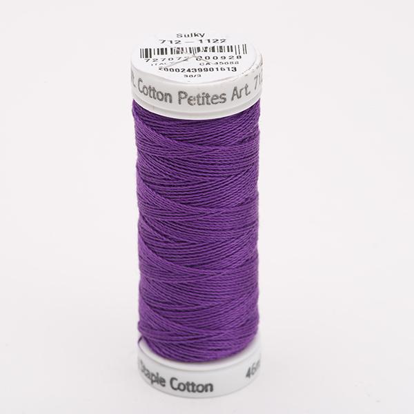 SULKY COTTON PETITES 12, 46m Snap Spulen -  Farbe 1122 Purple