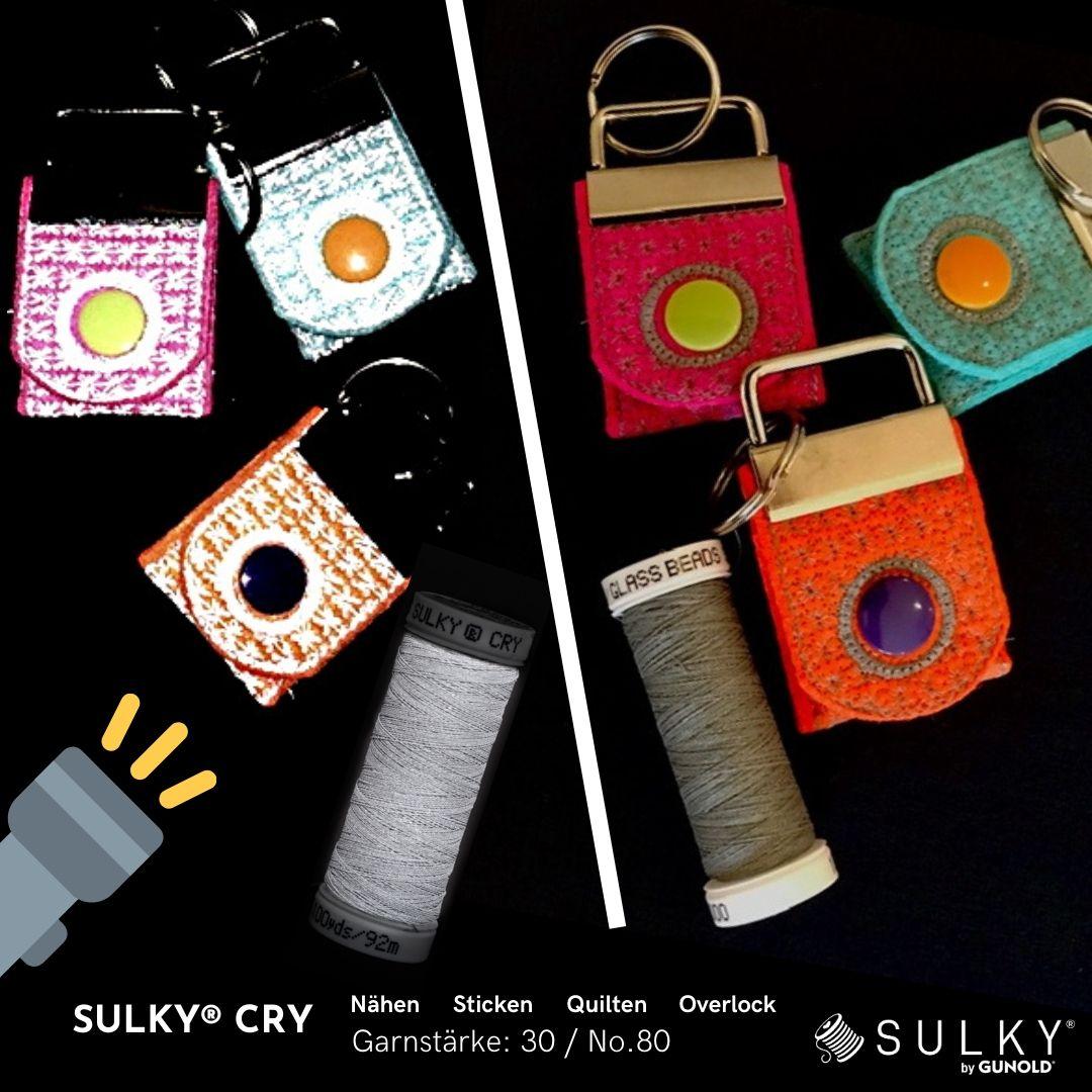 SULKY CRY 30, 92m Snap Spulen - Farbe 2000 Silver Reflective
