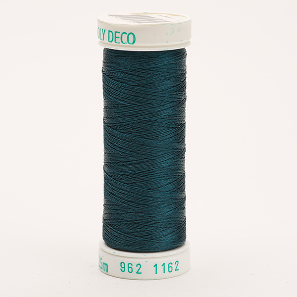 SULKY POLY DECO 40, 225m Snap Spulen -  Farbe 1162 Deep Teal