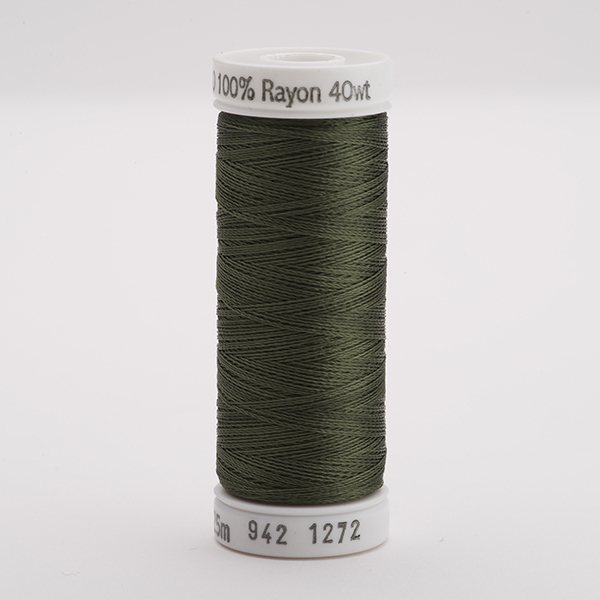 SULKY RAYON 40 farbig, 225m Snap Spulen -  Farbe 1272 Hedge Green