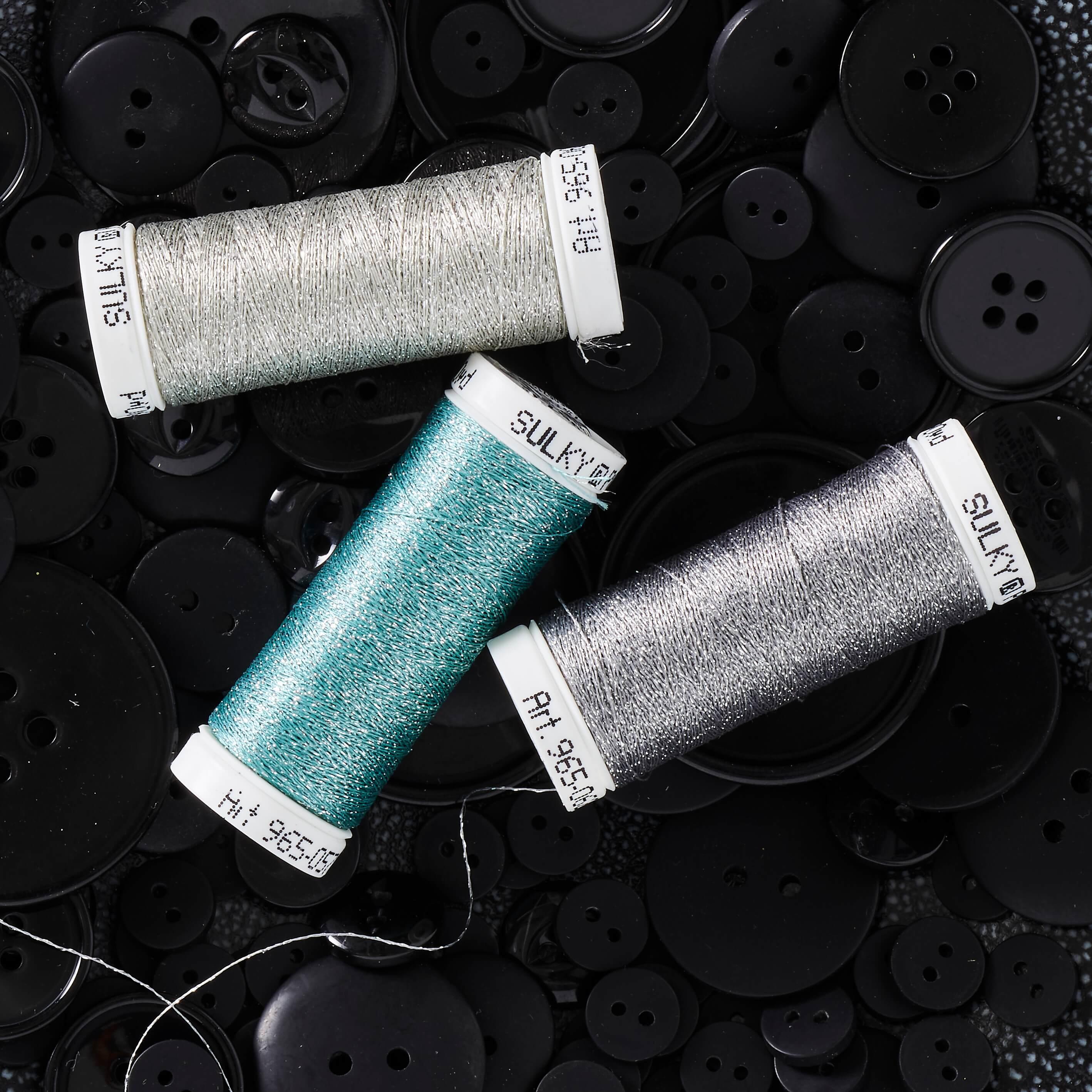 SULKY POLY SPARKLE - Metallisiertes Polyestergarn