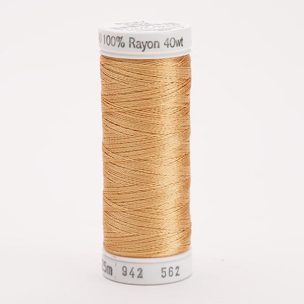 SULKY RAYON 40 farbig, 225m Snap Spulen -  Farbe 0562 Spice