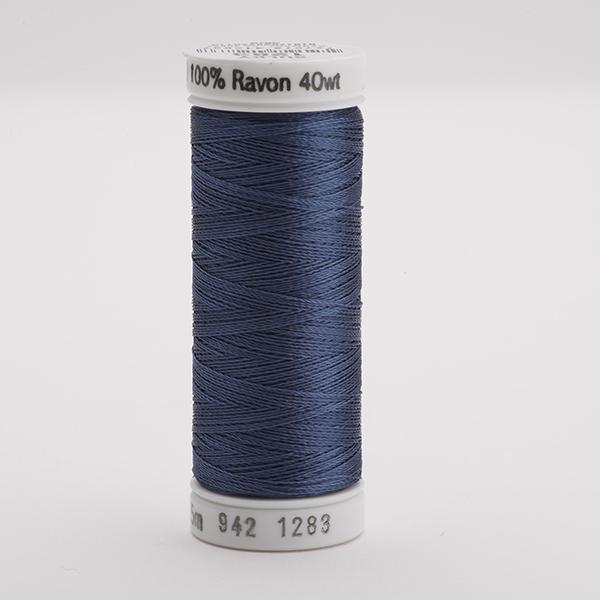 SULKY RAYON 40 farbig, 225m Snap Spulen -  Farbe 1283 Slate Gray