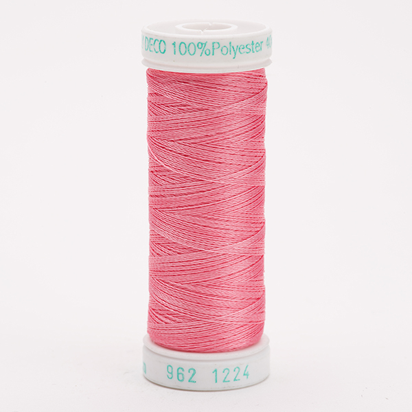 SULKY POLY DECO 40, 225m Snap Spulen -  Farbe 1224 Bright Pink