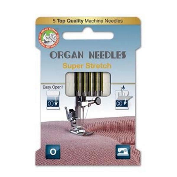 Organ Needles Super Stretch Stärke 75