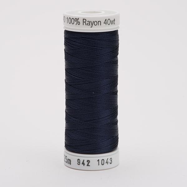 SULKY RAYON 40 farbig, 225m Snap Spulen -  Farbe 1043 Dk. Navy