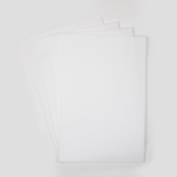 SULKY PUFFY 3mm weiß, 4 Bögen 20cm x 30cm