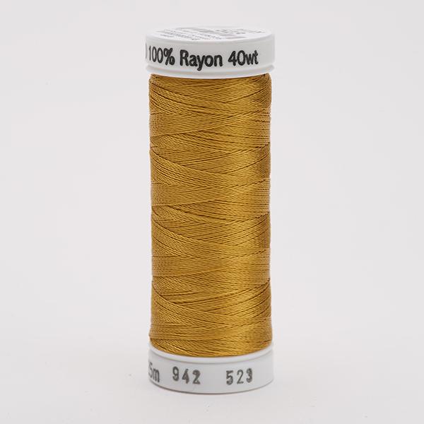 SULKY RAYON 40 farbig, 225m Snap Spulen -  Farbe 0523 Autumn Gold