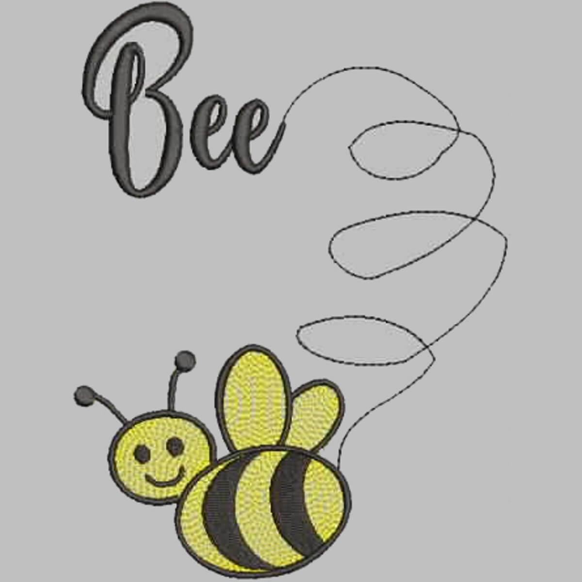 Stickdesign Bienchen