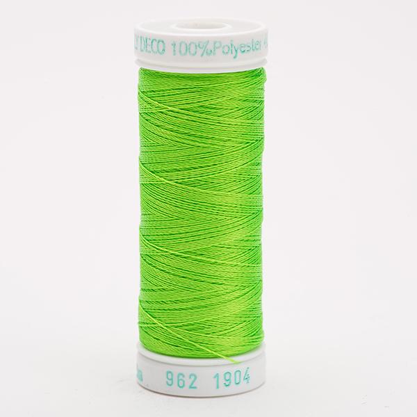 SULKY POLY DECO 40, 225m Snap Spulen -  Farbe 1904 Neon Green