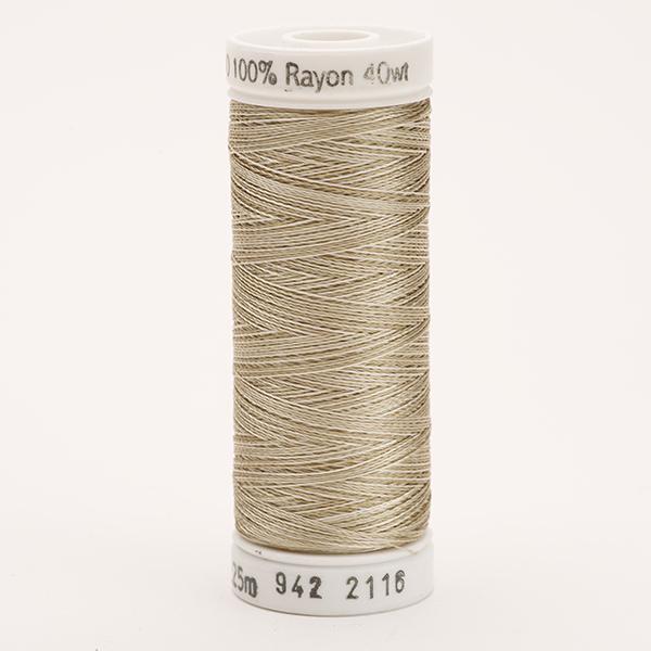 SULKY RAYON 40 ombre/multicolor, 225m Snap Spulen -  Farbe 2116 Vari-Taupes