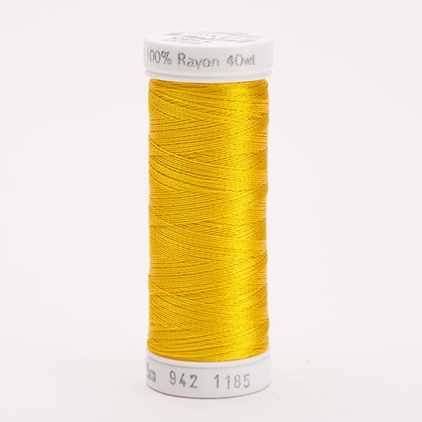 SULKY RAYON 40 farbig, 225m Snap Spulen -  Farbe 1185 Golden Yellow