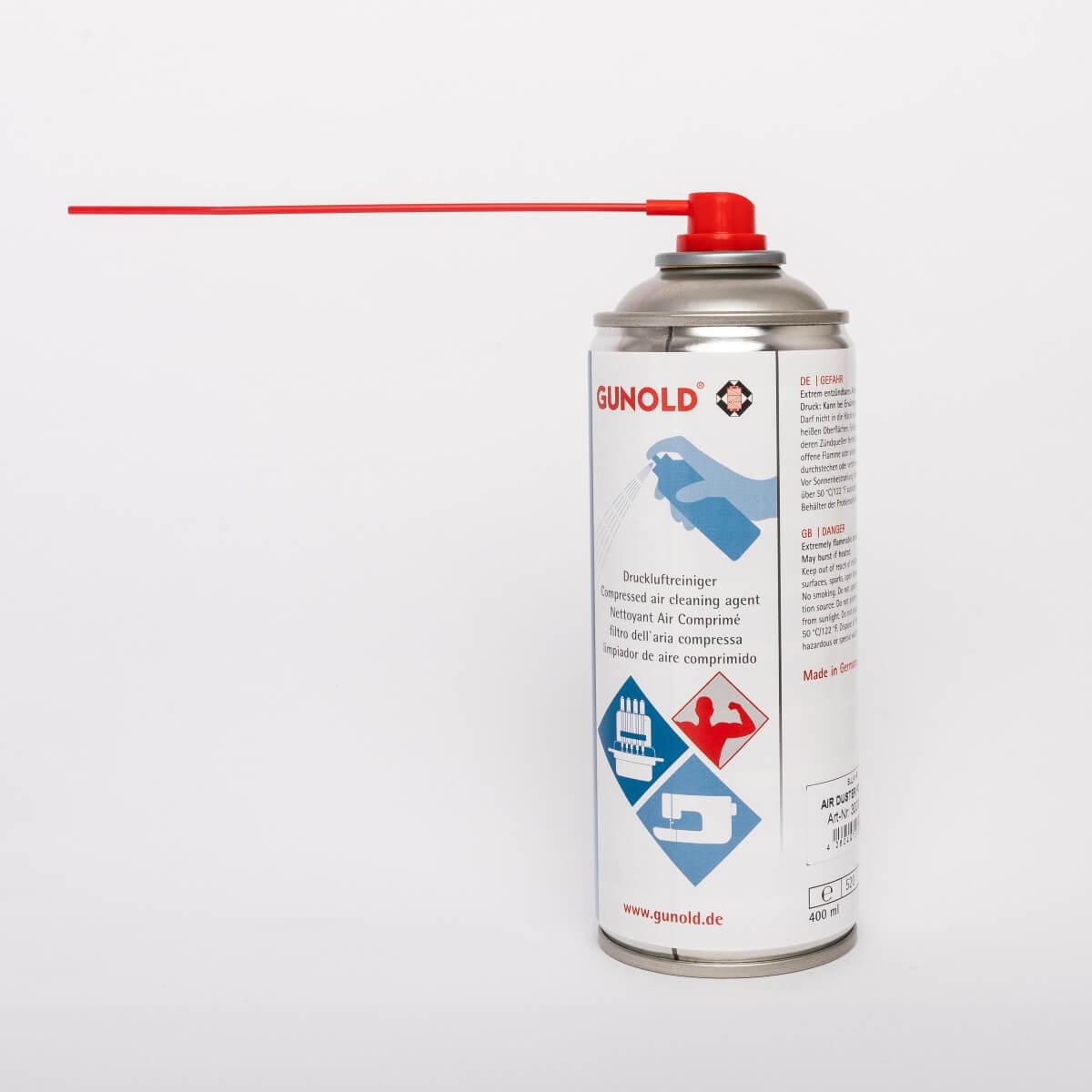 GUNOLD AIR DUSTER POWER, Druckluftspray, Dose 400 ml