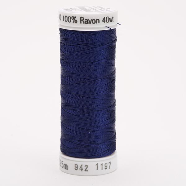 SULKY RAYON 40 farbig, 225m Snap Spulen -  Farbe 1197 Med. Navy