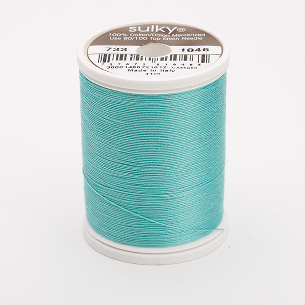 SULKY COTTON 30, 450m King Spulen -  Farbe 1046 Teal