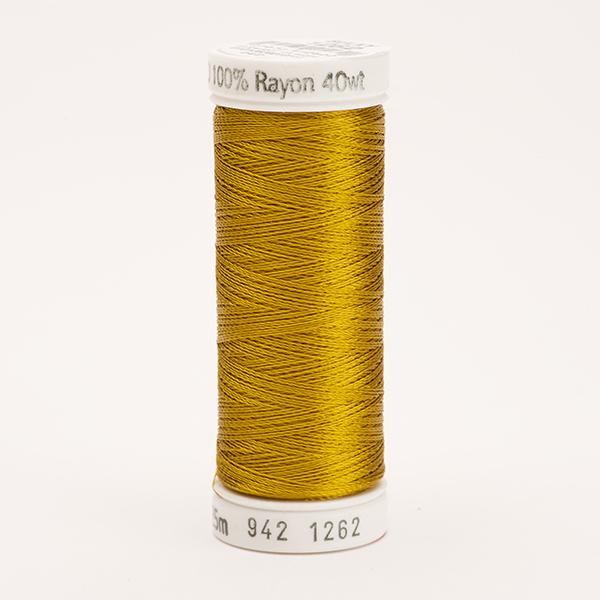 SULKY RAYON 40 farbig, 225m Snap Spulen -  Farbe 1262 Dk. Autumn Gold