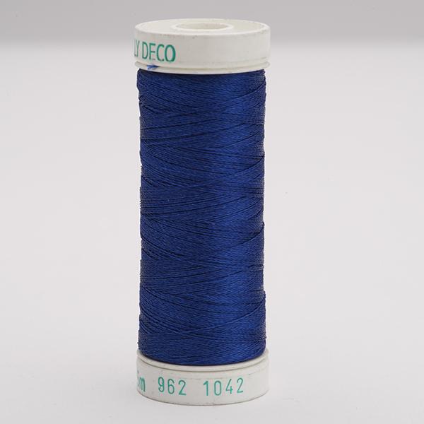 SULKY POLY DECO 40, 225m Snap Spulen -  Farbe 1042 Bright Navy Blue