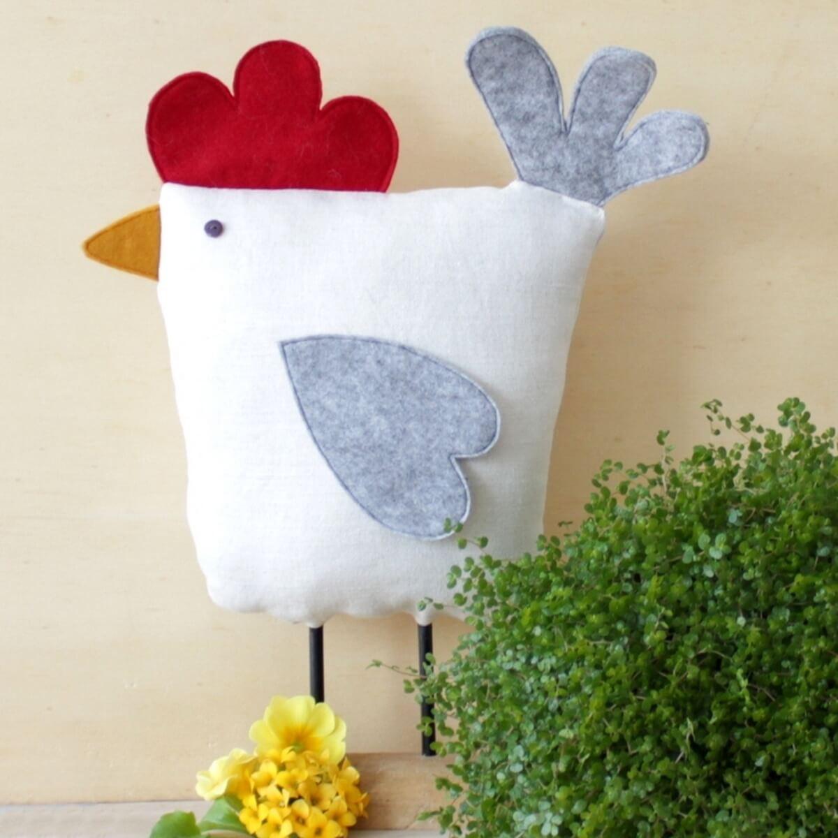 Frühlings-Huhn