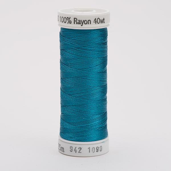 SULKY RAYON 40 farbig, 225m Snap Spulen -  Farbe 1090 Deep Peacock