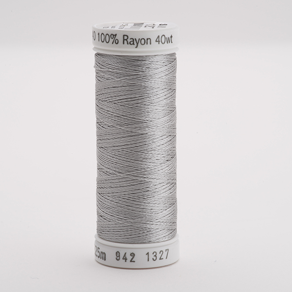 SULKY RAYON 40 farbig, 225m Snap Spulen -  Farbe 1327 Dk. Whisper Gray