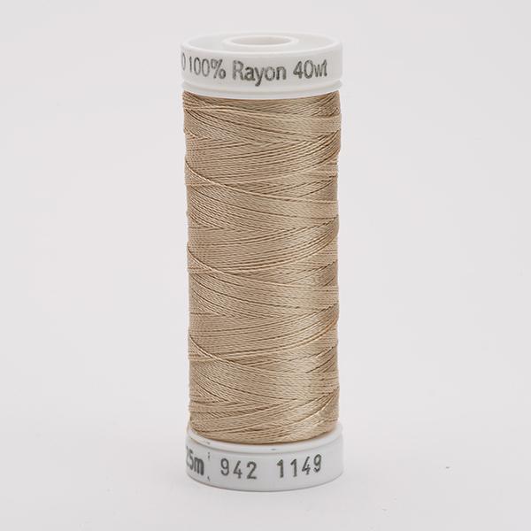 SULKY RAYON 40 farbig, 225m Snap Spulen -  Farbe 1149 Deep Ecru