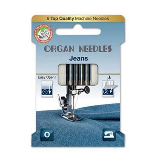 Organ Needles Jeans Stärke 90