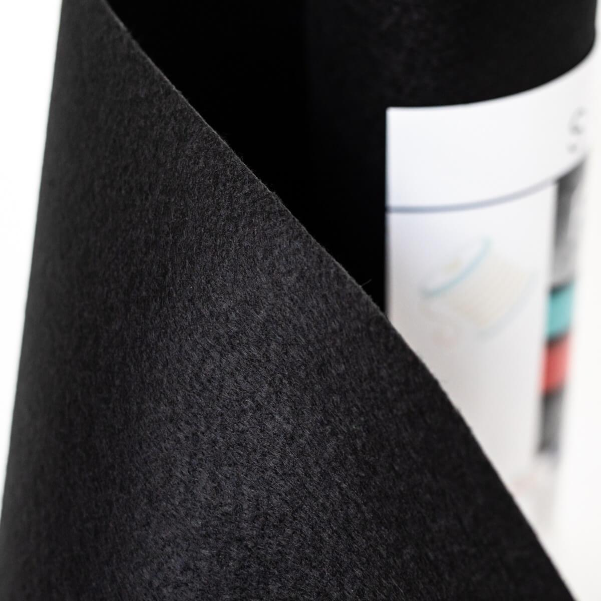 SULKY FELTY, waschbar, 25cm x 3m - Farbe 499 schwarz