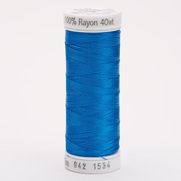 SULKY RAYON 40 farbig, 225m Snap Spulen -  Farbe 1534 Sapphire