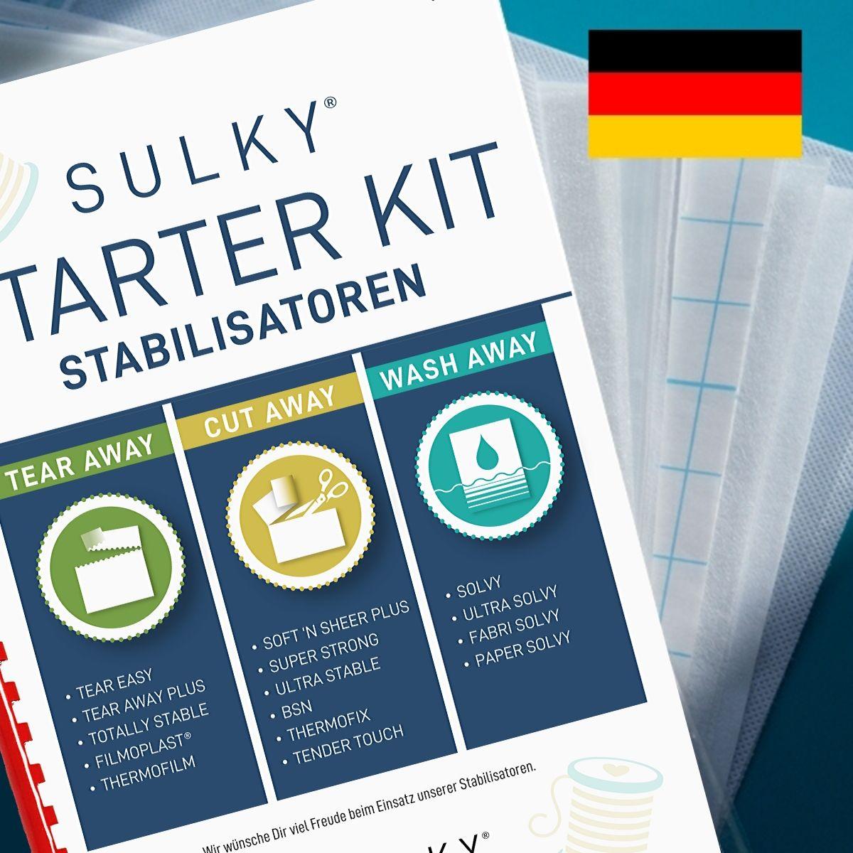 SULKY® Starter Kit Stabilisatoren