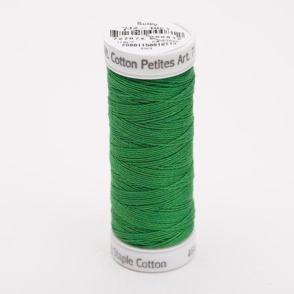 SULKY COTTON PETITES 12, 46m Snap Spulen -  Farbe 1051 Christmas Green