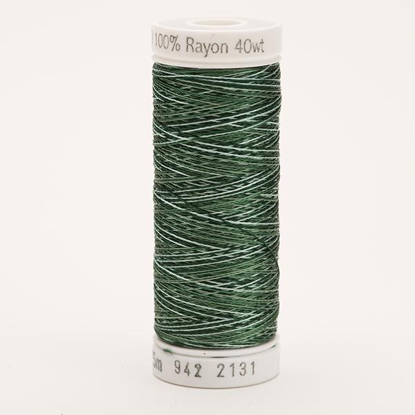 SULKY RAYON 40 ombre/multicolor, 225m Snap Spulen -  Farbe 2131 Vari-Khakis