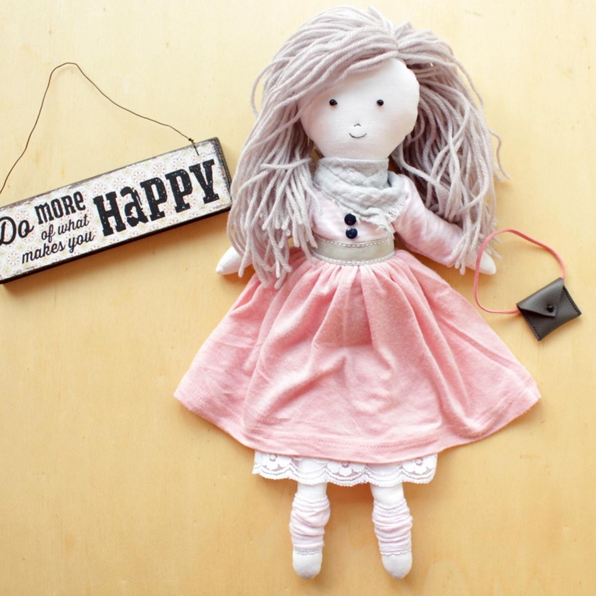 Puppe Kika