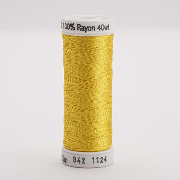 SULKY RAYON 40 farbig, 225m Snap Spulen -  Farbe 1124 Sun Yellow