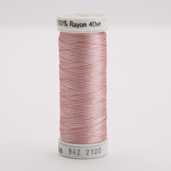 SULKY RAYON 40 ombre/multicolor, 225m Snap Spulen -  Farbe 2100 Vari-Pastel Pinks