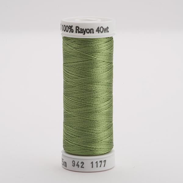 SULKY RAYON 40 farbig, 225m Snap Spulen -  Farbe 1177 Avocado