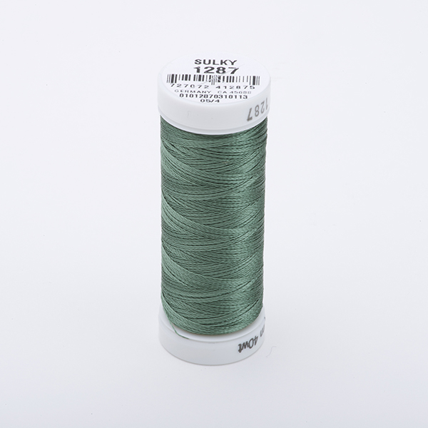 SULKY RAYON 40 farbig, 225m Snap Spulen -  Farbe 1287 French Green