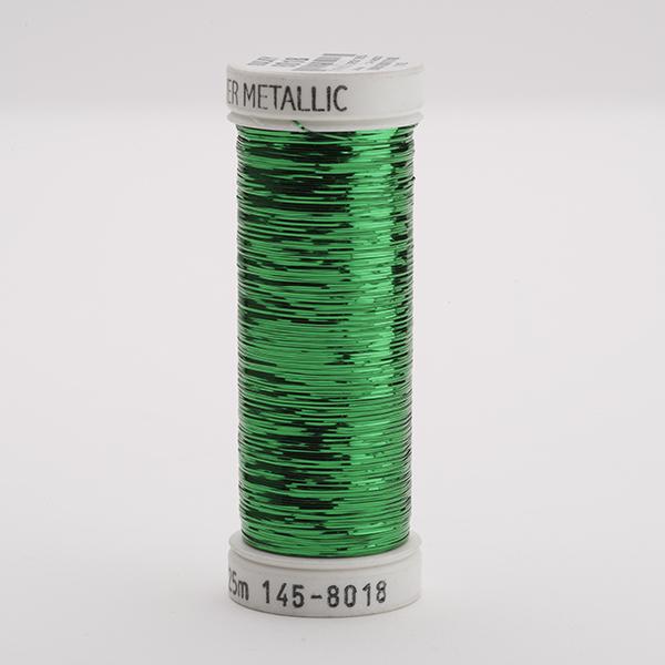 SULKY SLIVER, 225m Snap Spulen - Farbe 8018 Christmas Green