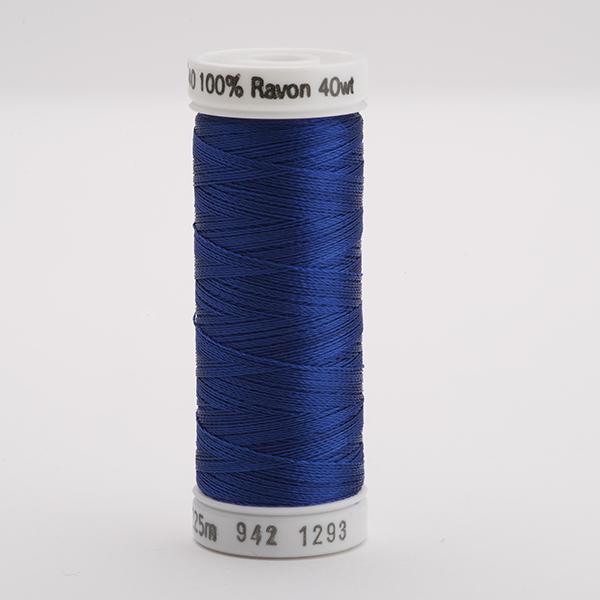 SULKY RAYON 40 farbig, 225m Snap Spulen -  Farbe 1293 Deep Nassau Blue