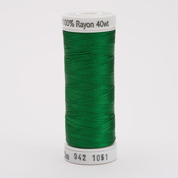 SULKY RAYON 40 farbig, 225m Snap Spulen -  Farbe 1051 Christmas Green