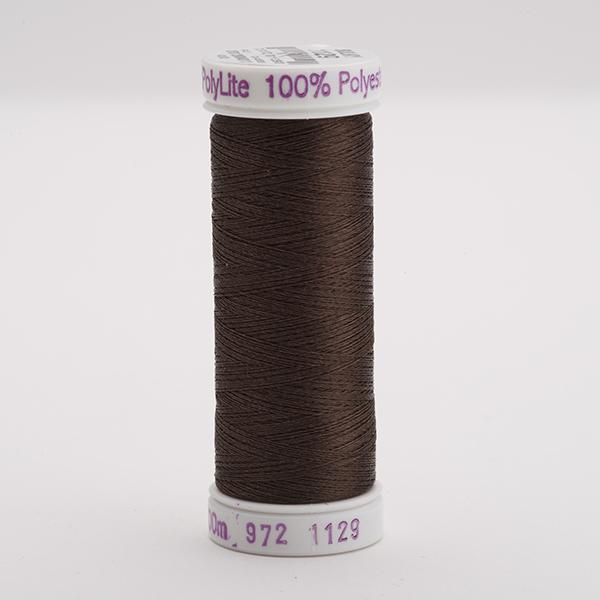 SULKY POLY LITE 60, 400m Snap Spulen -  Farbe 1129 Brown