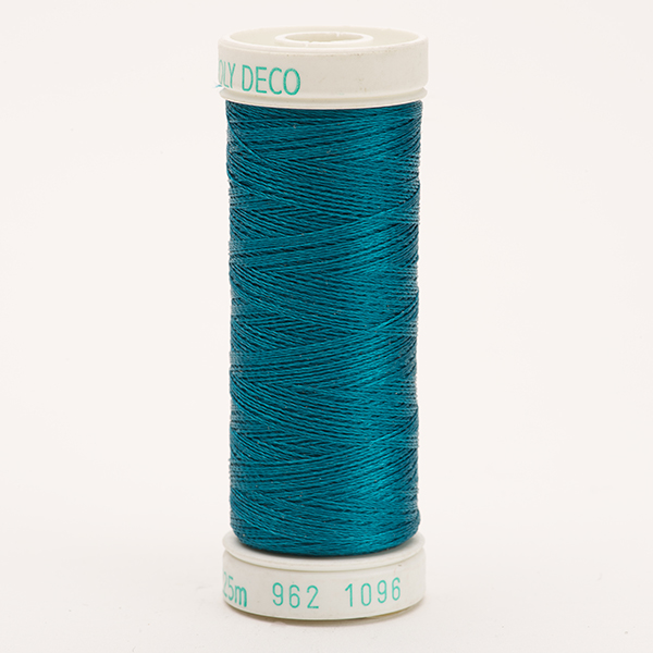 SULKY POLY DECO 40, 225m Snap Spulen -  Farbe 1096 Turquoise