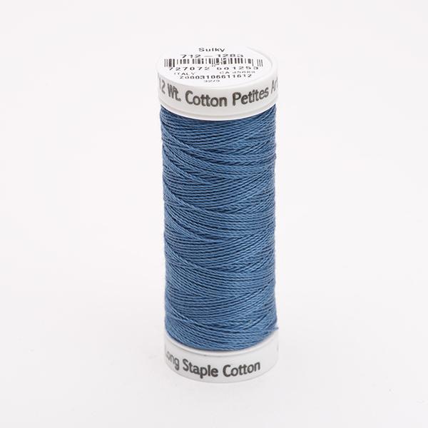 SULKY COTTON PETITES 12, 46m Snap Spulen -  Farbe 1283 Slate Gray