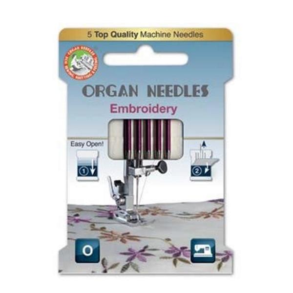 Organ Needles Embroidery Stärke 75