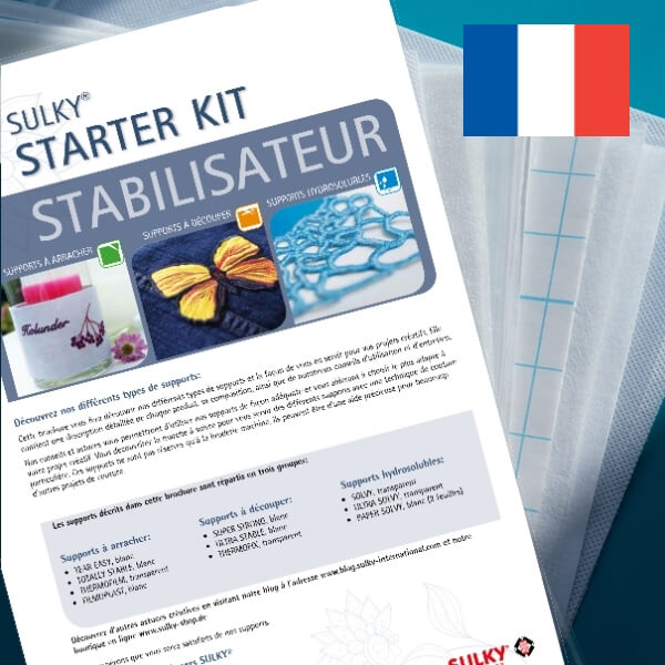SULKY STARTER KIT - Stabilisateur (in French) - Package contains 15 Sampler