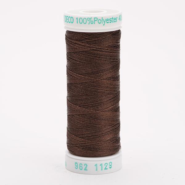 SULKY POLY DECO 40, 225m Snap Spulen -  Farbe 1129 Brown