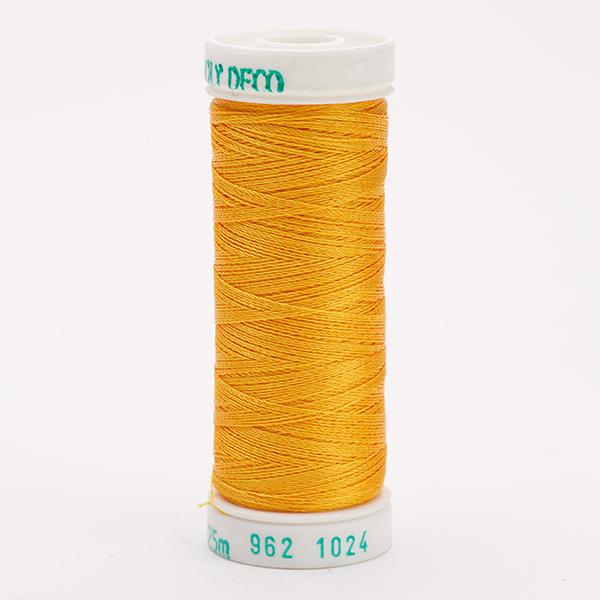 SULKY POLY DECO 40, 225m Snap Spulen -  Farbe 1024 Goldenrod